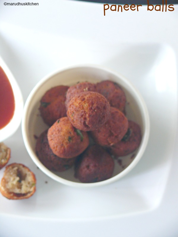 cheese paneer balls recipe /paneer balls snack