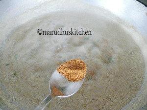chettinad vellai kurma /mixed vegetable korma