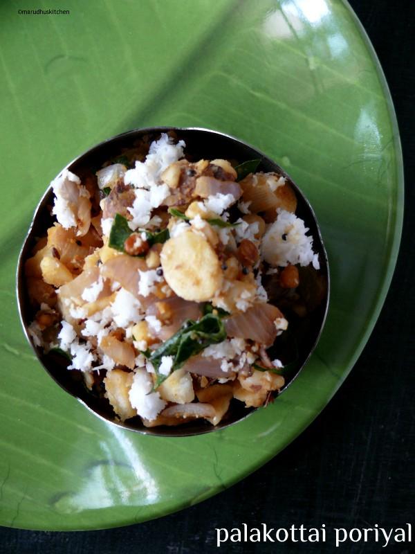 jackfruit seeds poriyal  /palakottai stirfry recipe