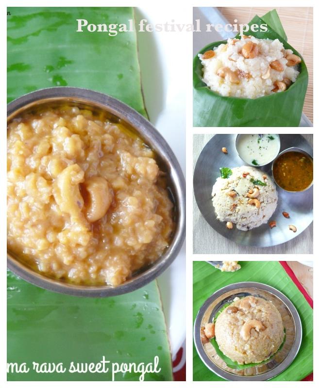 thai pongal recipes / pongal festival special recipes