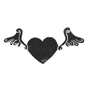 stempel-vliegend-hart