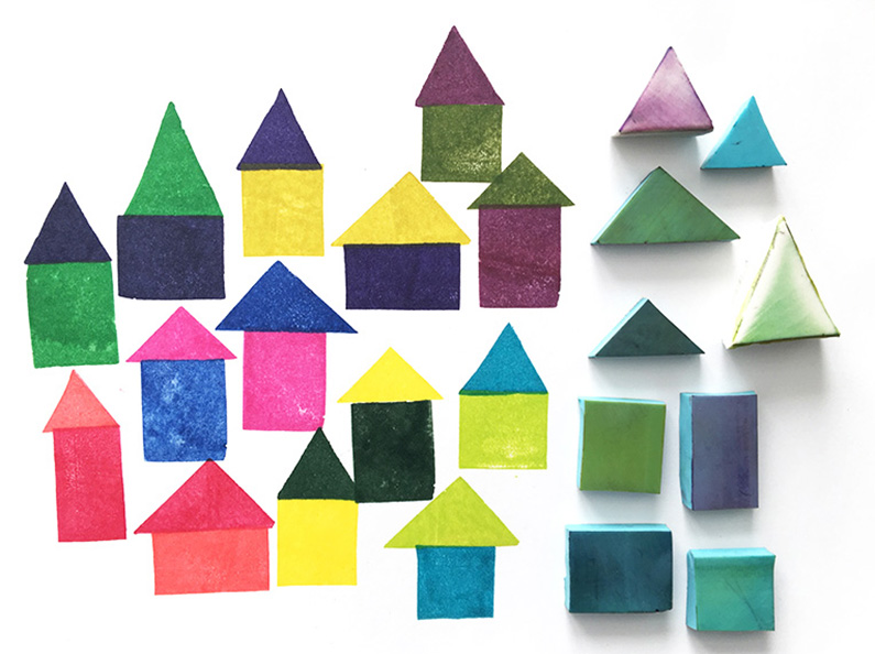 Stempeltips: hoe je kunt stempelen met simpele vormen