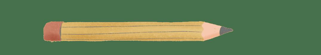 tekening van potloog