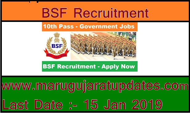 Border Security Force Recruitment