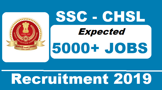 SSC Combined Higher Secondary Level (10+2) Examination 2019-20