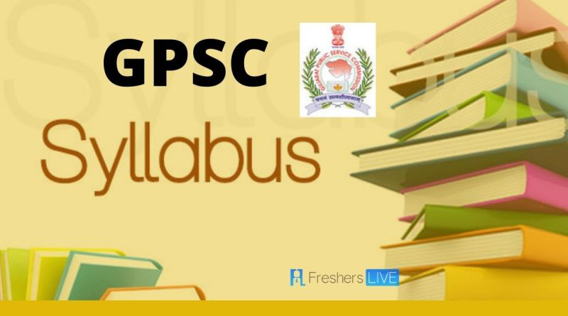 NEW GPSC Syllabus of Class 1-2-3 (UPDATE 2020)