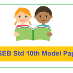 GSEB Std 10th Model Paper 2021 Gujarat SSC Sample Paper 2021 Download