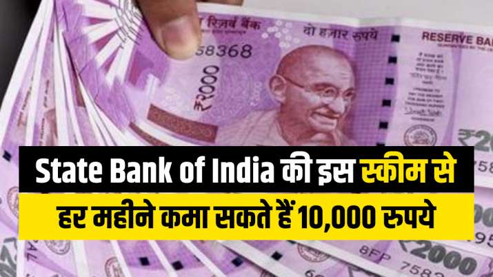 Good news for SBI customers! Invest in this scheme and earn 10 thousand rupees every month sitting at home