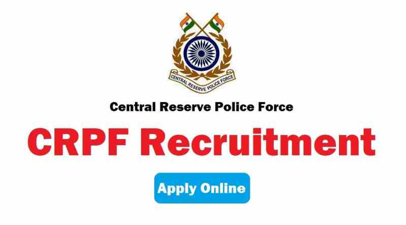 Central Reserve Police Force (CRPF) Recruitment for 38 Head Constable (Ministerial) Posts 2021