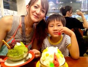 斉藤ふみと子供の息子画像