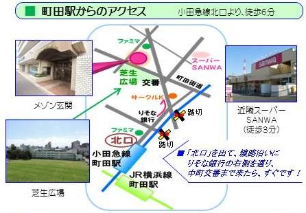 150509 町田駅からのアクセス