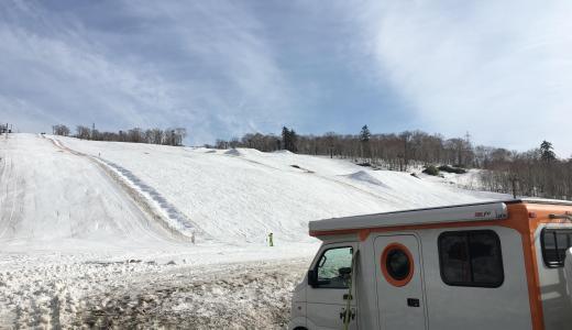 【北海道】中山峠スキー場で春スキーをしてみた