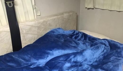 【道具】冬の車中泊やキャンプに『ロゴス 丸洗いやわらかシュラフ・2』がオススメ!