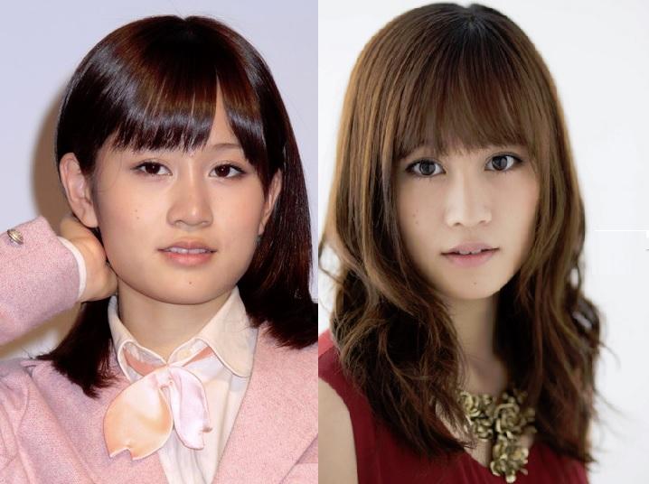 「前田敦子 比較」の画像検索結果