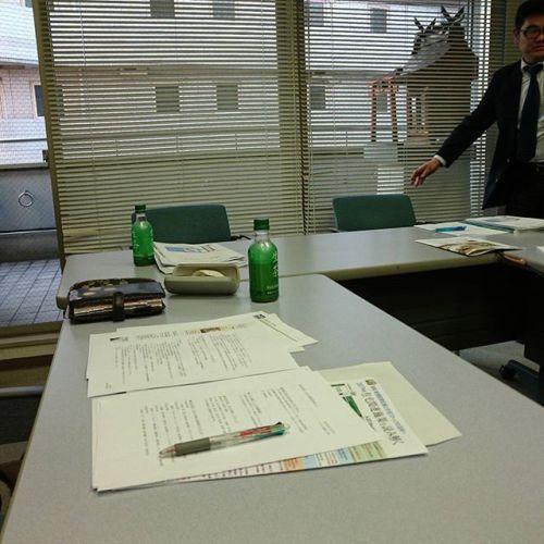 今日は支部会で住宅のお勉強会です。
