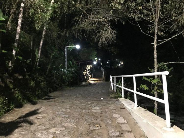 マチュピチュ温泉までの道のり
