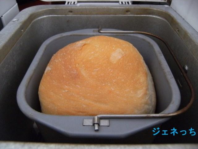 もちもちのパンが焼きあがり