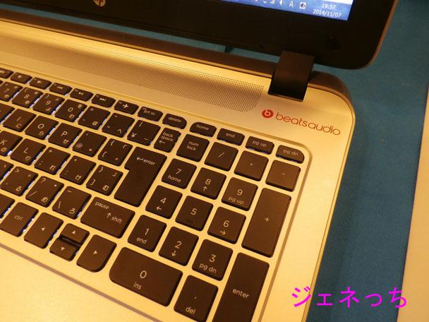 HP-ENVY-15-k000キーボード
