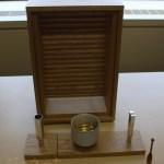 小型家具調仏壇 光の厨子と3点セット