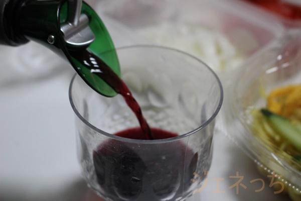 ワイングラスではないですが。。。