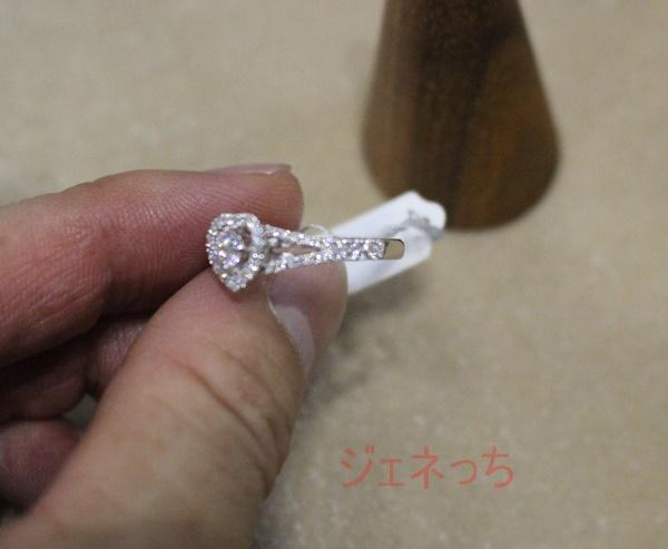 ブリリアンス+のダイアモンドの指輪