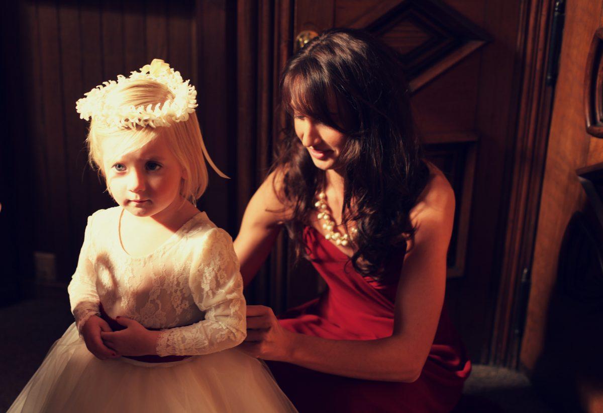 970eba2103 White Ivory Champagne Lace Leotard Tulle Skirt Flower Girl Dress Wedding