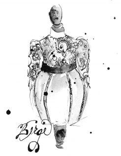 WEBSITE SKETCH 1 BERGE DRESS 1 7 by 9