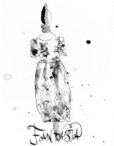 fantasia website sketch handpainted lace
