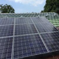 散水瓦・太陽電池パネル散水システム