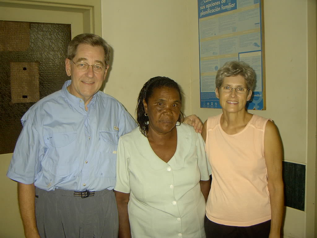 The lady who received our gift of Tamoxifen