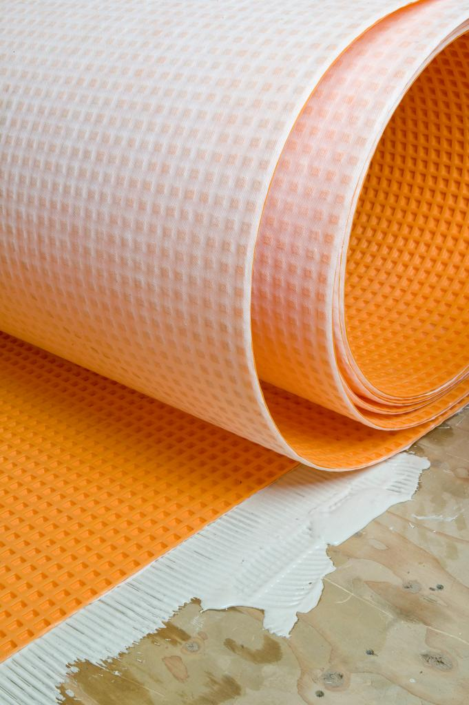 how uncoupling membranes for tile