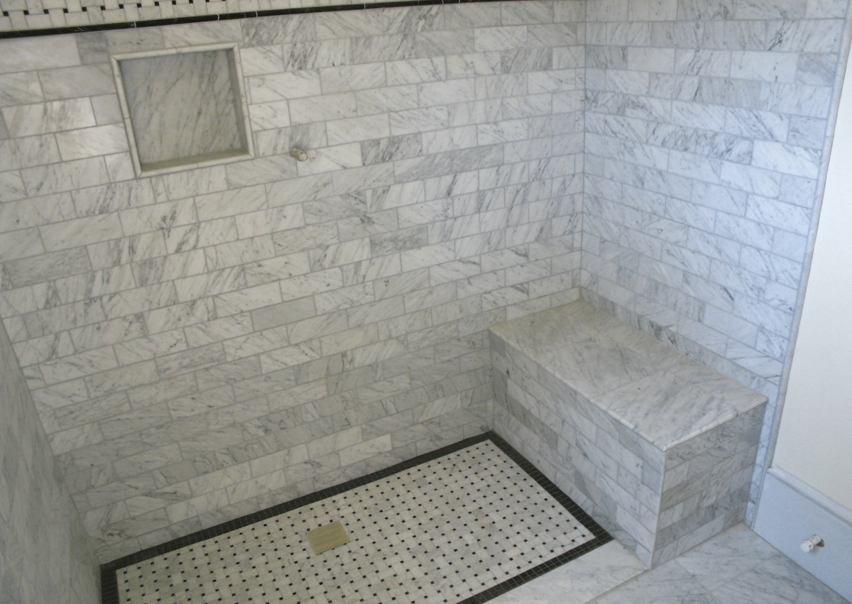shower waterproofing tips site built