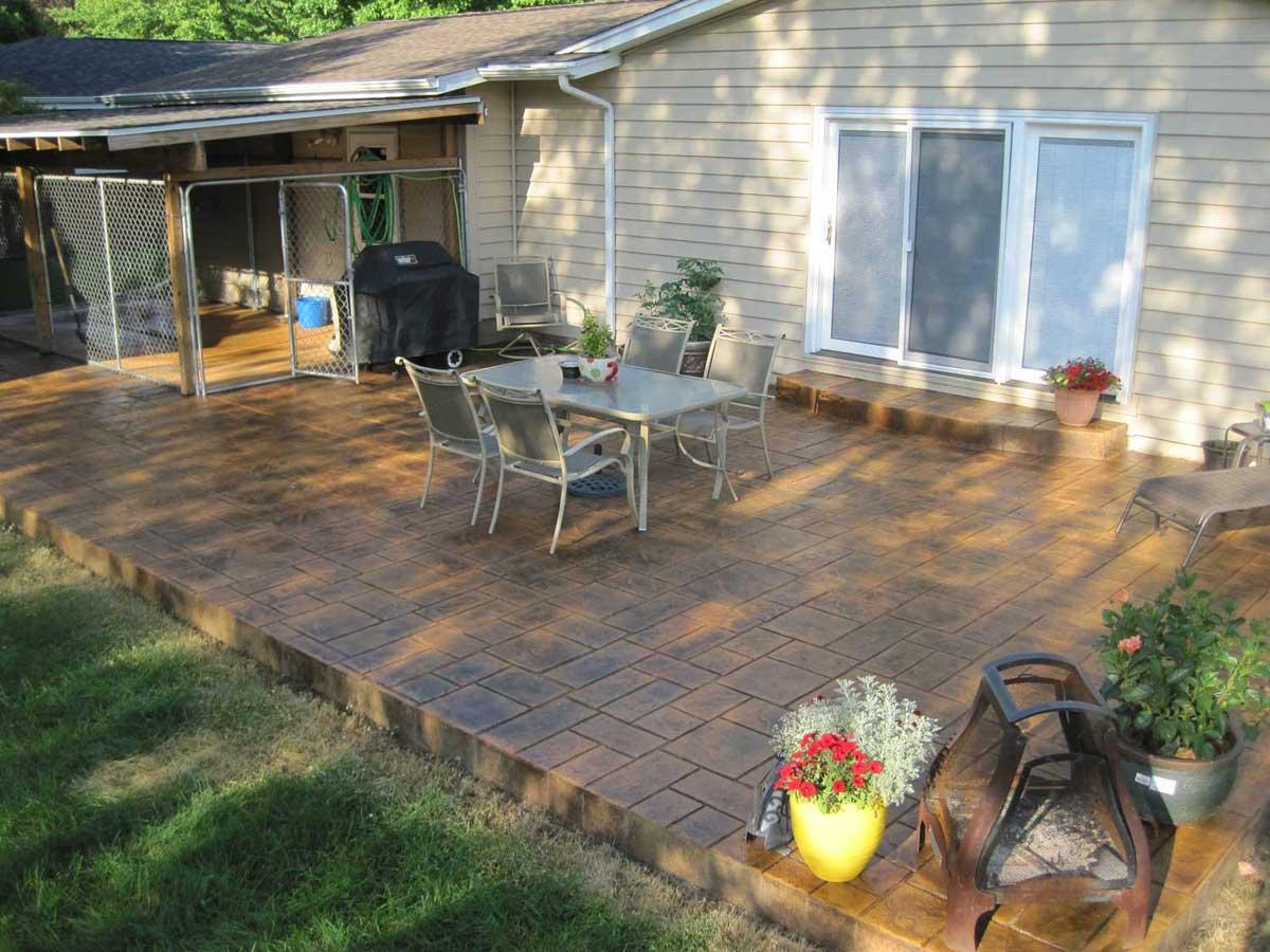 concrete finishes for patios solomon