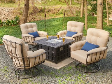 meadowcraft vinings cushion seating