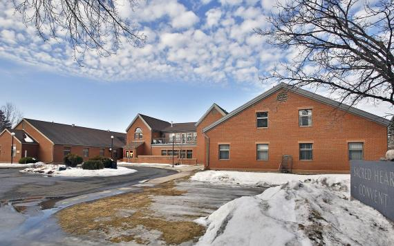 Sacred Heart Convent, 1101 32nd Ave. S. in Fargo, as seen in early March 2021. Forum file photo
