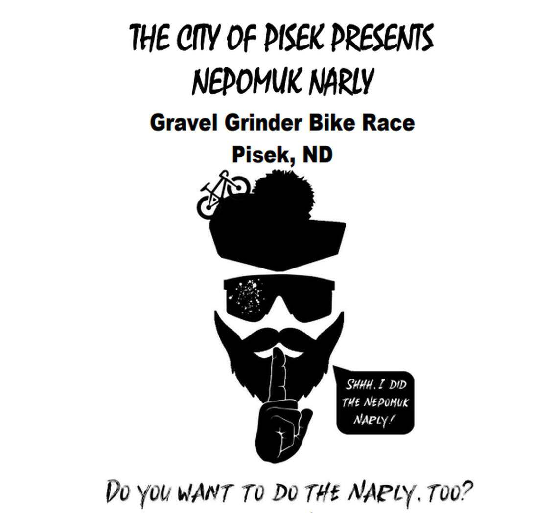Pisek, N.D., will host the first Nepomuk Narly Gravel Grinder Bike Race on Saturday, Oct. 2, 2021. Special to The Forum
