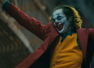 Joaquin Phoenix's Joker laughing and dancing scene