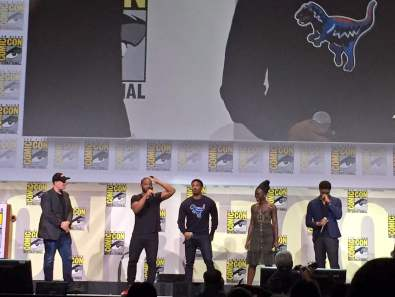 black panther casting comic con 2016 photo