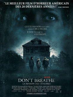Affiche française de Don't Breathe: La Maison des ténèbres