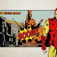 Marvel : les affiches des films revisitées à la façon comic old school