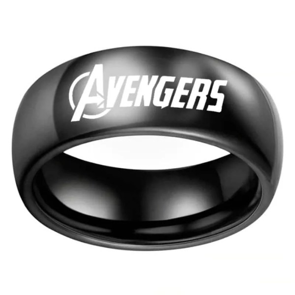 black avengers classic ring - marvel official online store - marvelofficial.com