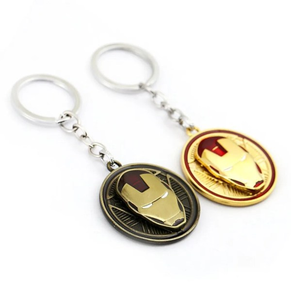 iron man keychain rotating - marvelofficial.com