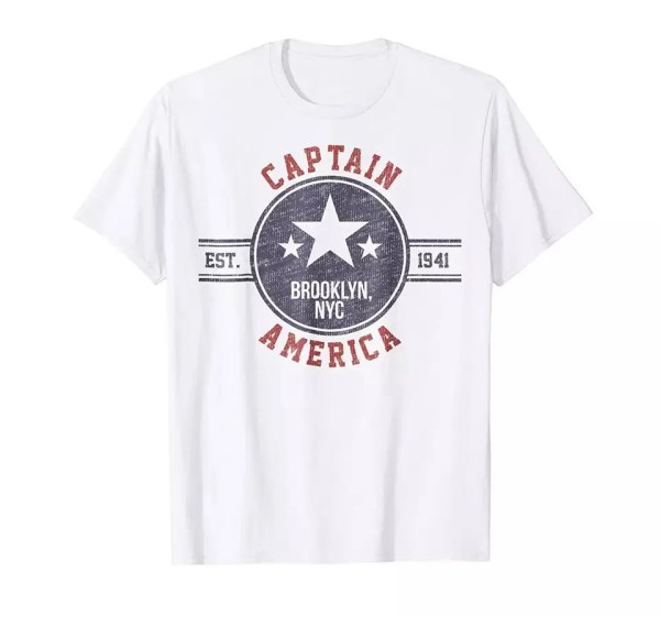Marvel Captain America Brooklyn T-Shirt - marvelofficial.com