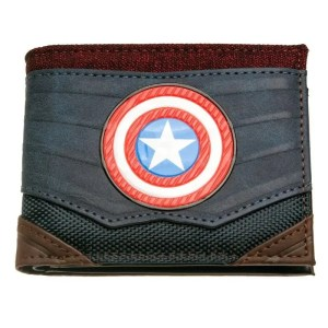 Captain America Bi-Fold Wallet - marvelofficial.com