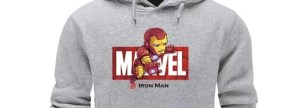 Marvel Avengers Logo Iron Man Hoodie - Marvelofficial.com