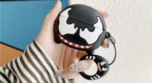 Apple AirPods Pro Case Marvel Venom Mask - Marvelofficial.com