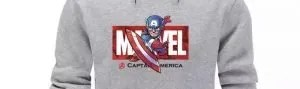 Marvel Avengers Captain America Hoodie - Marvelofficial.com