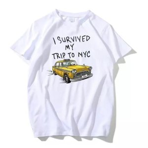 Marvel I Survive My Trip to NYC T-Shirt - marvelofficial.com
