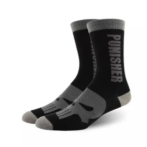 Marvel Socks - Marvel The Punisher Crew Socks - Marvelofficial.com