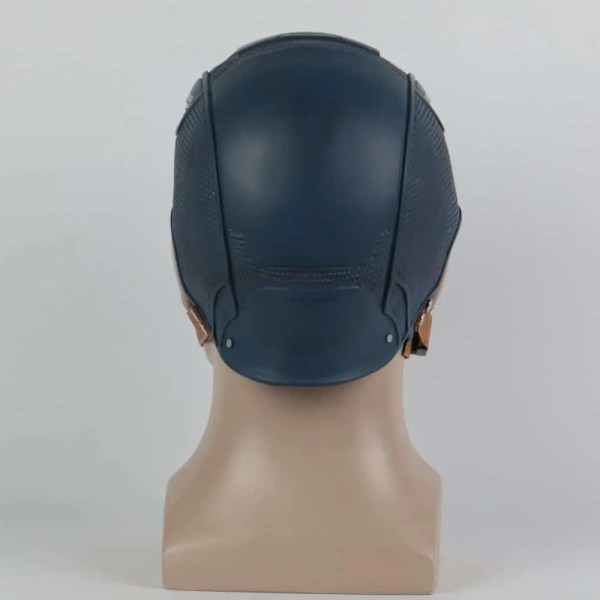backCaptain America Helmet Prop Replica - marvelofficial.com